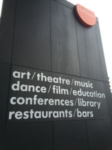 Barbican Sign