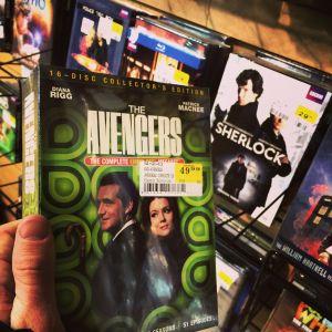 Avengers DVD set