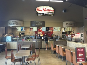 Tim Hortons, Food Court Style